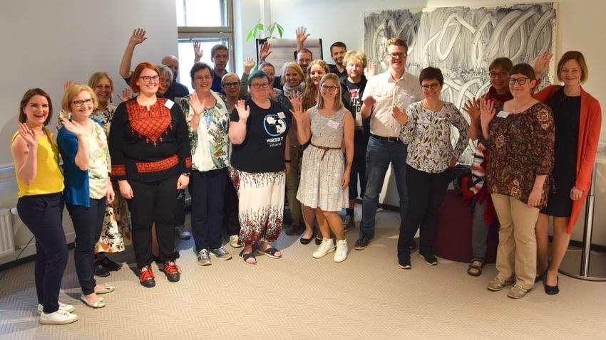 Hankkeen käynnistyseminaari pidettiin Helsingissä 12.6.2019.
