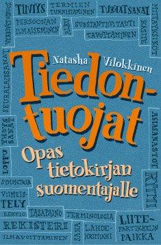 Tiedontuojat - Opas tietokirjan suomentajalle kansikuva, kääntäminen